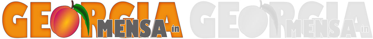 Mensa in Georgia logo